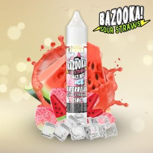 Bazooka Watermelon ice sour straws