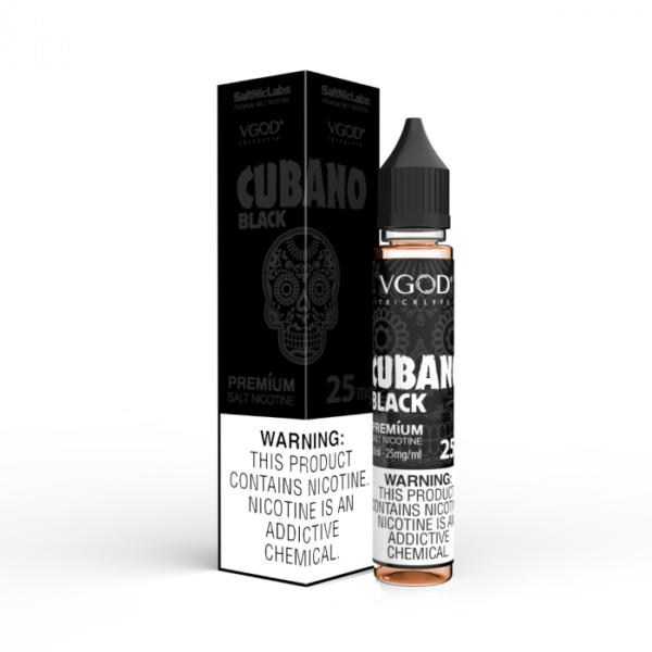 SaltNic Cubano Black By VGOD