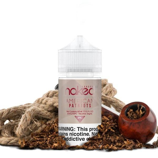 American Patriots eliquid by Naked100 Tobacco