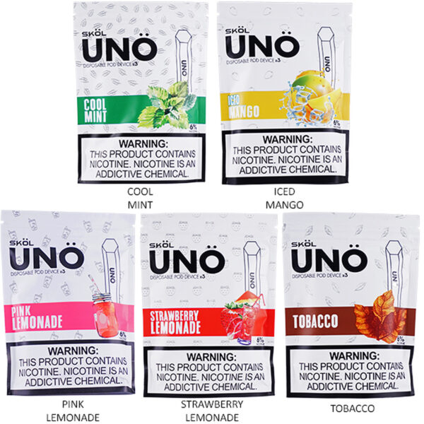 SKO UNO DISPOSABLE POD DEVICE