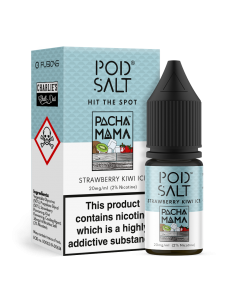 Strawberry Kiwi Ice By Pod Salt