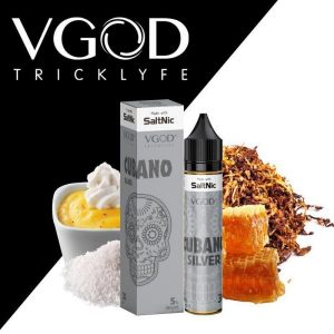 VGOD Cubano Silver SaltNic