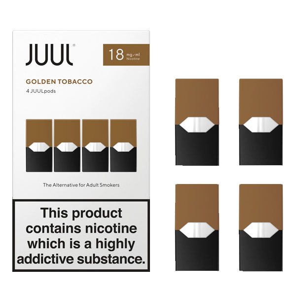 JUUL Golden Tobacco 18mg