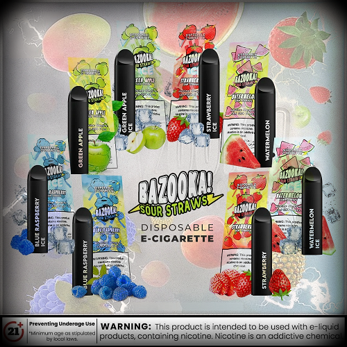 Bazooka Disposable Vape Pods