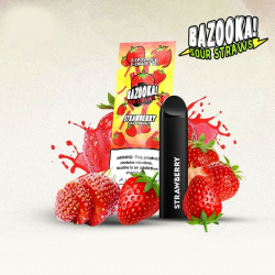 bazooka strawberry disposable