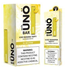 iced banana taffy uno bar