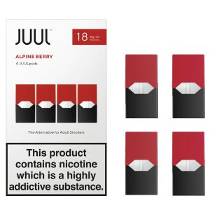 juul alpine berry 18mg