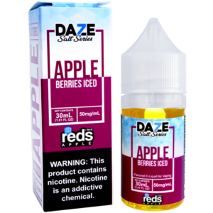 reds apple Berries iced saltnic