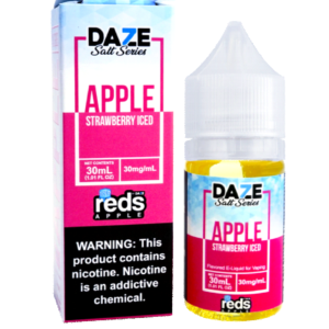 reds apple strawberry ice saltnic
