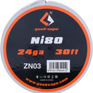 Geek Vape Ni80 Nichrome Coil Wire 30Ft 24GA