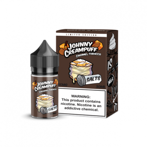 Johnny Creampuff caramel tobacco saltnic